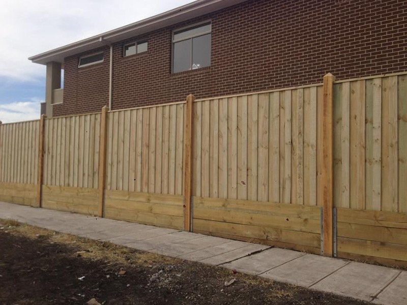 Timber Fencing in Epping