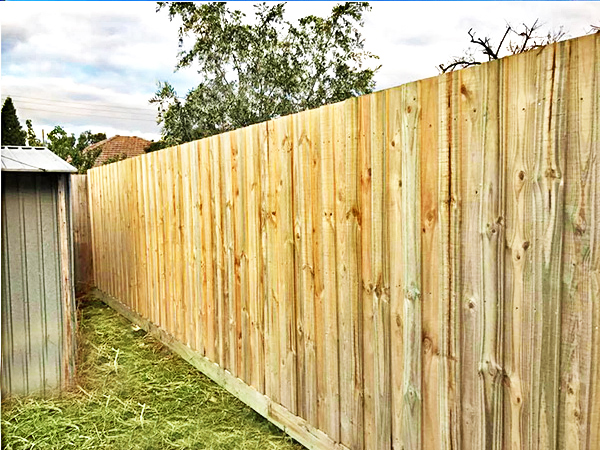 Timber Fencing in Greenvale