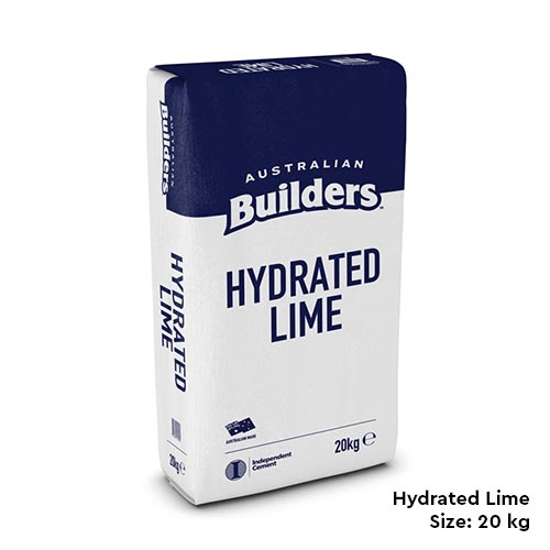 Australian Builders Hydrated Lime Supplier Melbourne