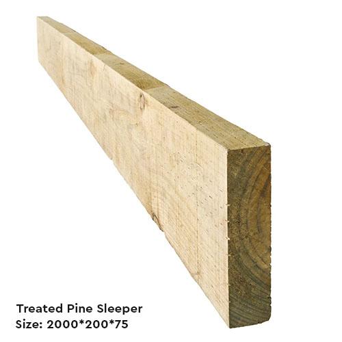 Buy Treated Pine Sleepers in melbourne