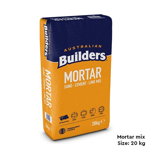 Mortar mix Supplier in Melbourne