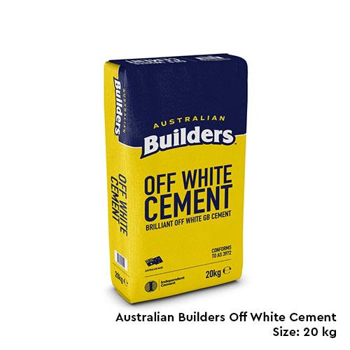 Off White Cement Supplier in Melbourne