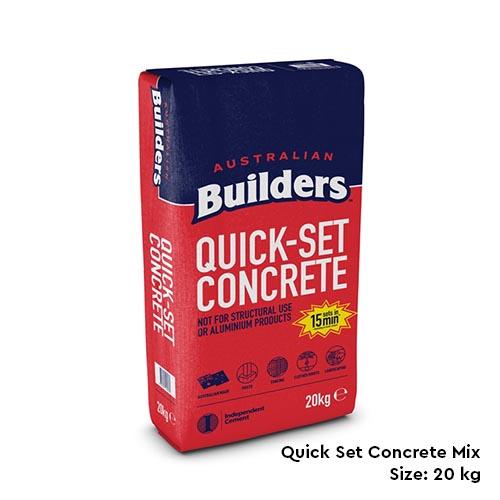 Quick Set Concrete Mix in Melbourne