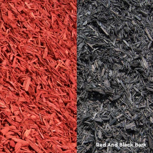 Red and black bark supplier Melbourne Eastern suburbs