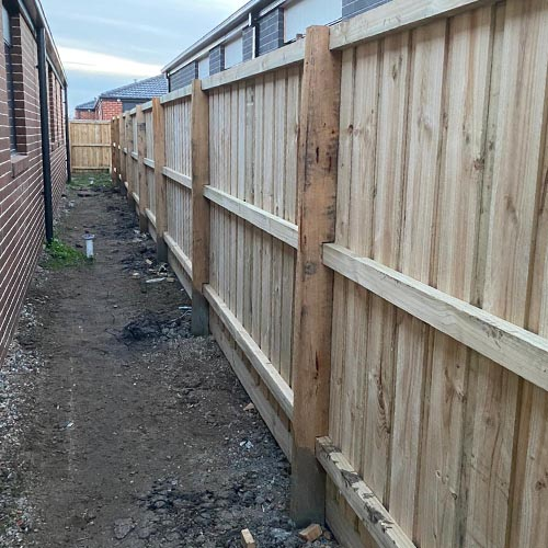 Timber Fencing in Wollert